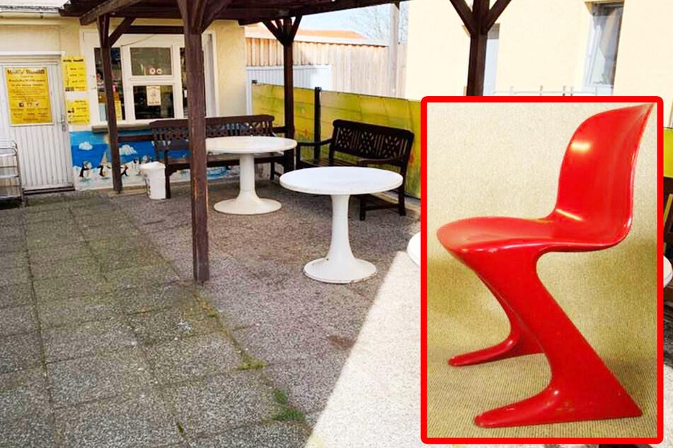 Zum Saisonstart: Seltene DDR-Stühle aus Dresdner Eiscafé gestohlen