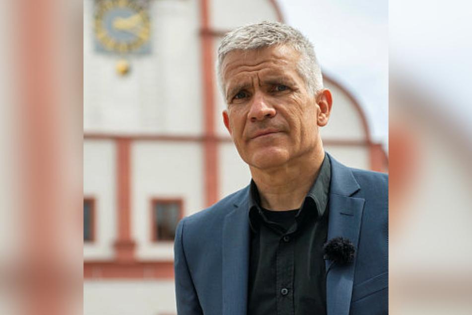 Will, das Polizei und Staatsanwaltschaft konsequenter gegen Vandalismus vorgehen: Grimmas OB Matthias Berger (53, parteilos).