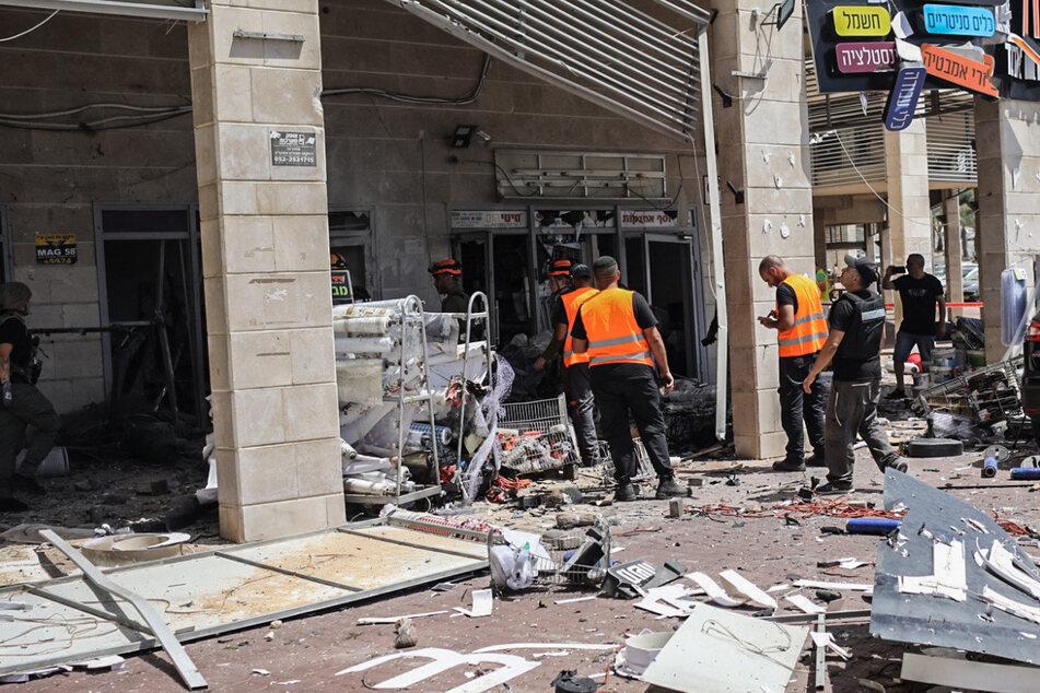 Zwei Frauen bei massiven Raketenangriffen in Israel getötet