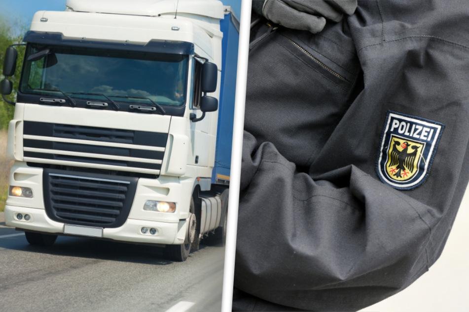 """Geht's noch? Polizei """"stört"""" Lkw-Fahrer auf der A7 bei lebensgefährlichem Zeitvertreib"""