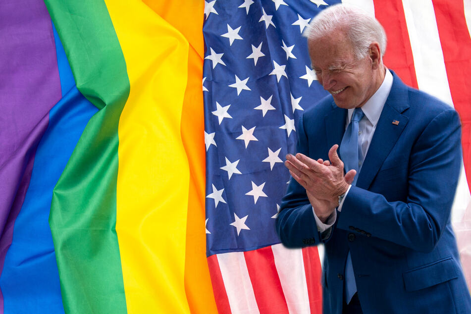 President Biden has reissued calls for the passage of the Equality Act, which is currently stalled in the Senate (stock image).