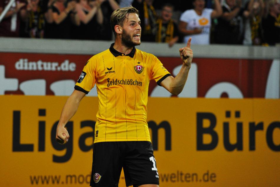 Justin Eilers war in der Saison 2015/16 an 30 Dynamo-Toren direkt beteiligt.