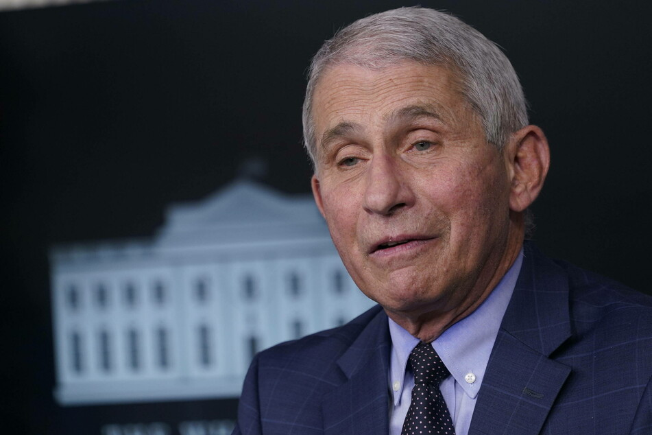 Dr. Anthony Fauci says the new Covid-19 strain is more contagious but does not seem to make people sicker.