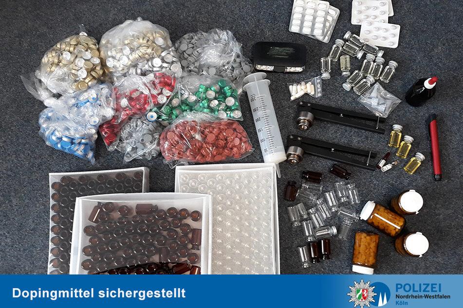 1000 Anabolika-Ampullen bei Doping-Razzia rund um Köln entdeckt