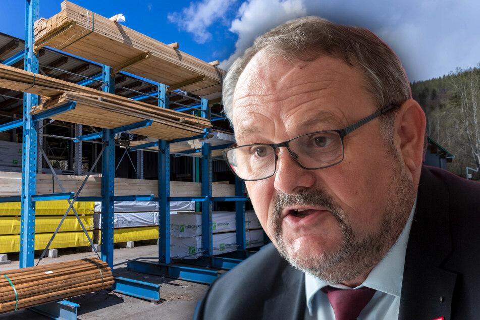 Chemnitz: Weil die Holz-Preise explodieren: Chemnitzer Baubranche droht der Kollaps