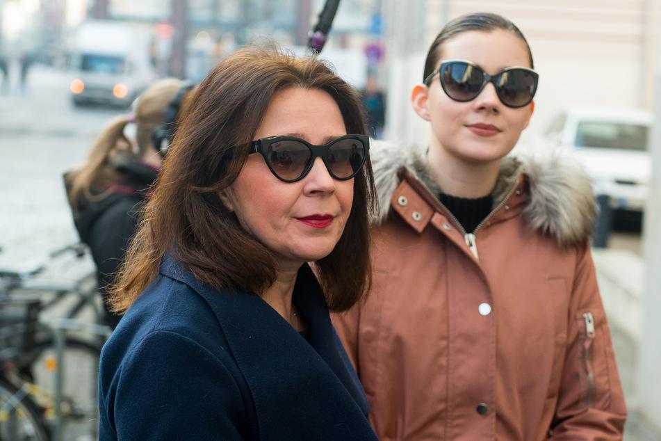 Nathalie Volk (24) und Mama Viktoria waren einmal ein Herz und eine Seele.