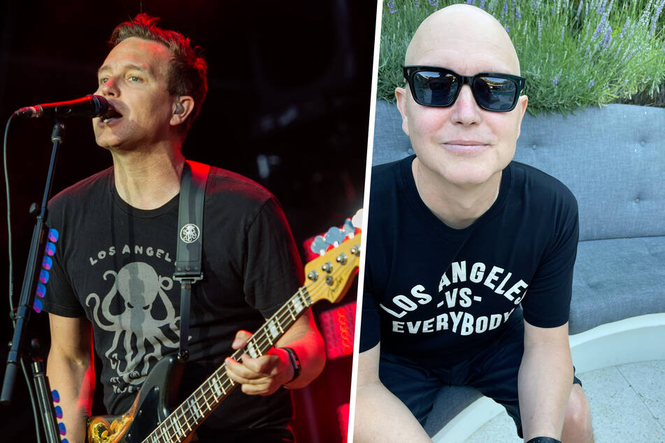 Blink-182 singer Mark Hoppus shares some news in his fight with cancer