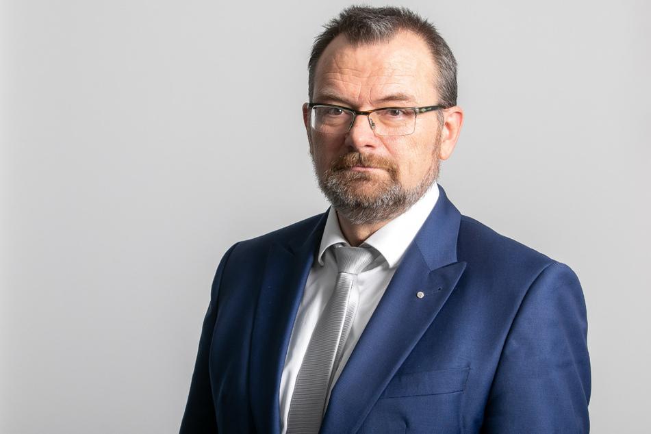 Klaus-Peter Hansen (57), Vorsitzender der Geschäftsführung der Regionaldirektion Sachsen der Bundesagentur für Arbeit in Chemnitz.