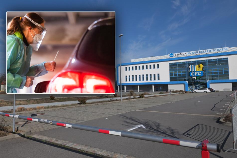 Chemnitz: Schon heute geht's los! Hier eröffnet Chemnitz' erster Drive-in für Corona-Schnelltests