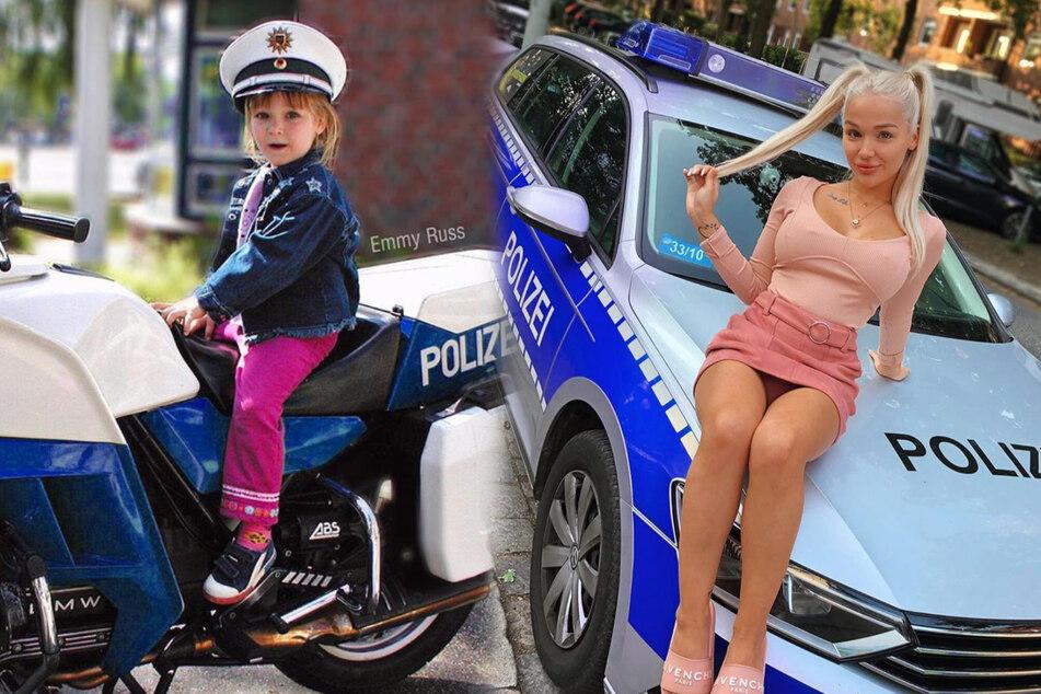 """Abgeführt! """"Promi Big Brother""""-Emmy Russ bekam es jetzt mit der Polizei zu tun"""