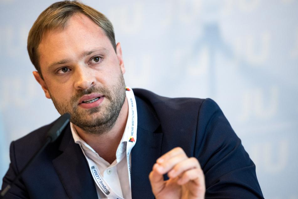 Offene Wege für das Allgemeinwohl fordert Alexander Dierks (33).