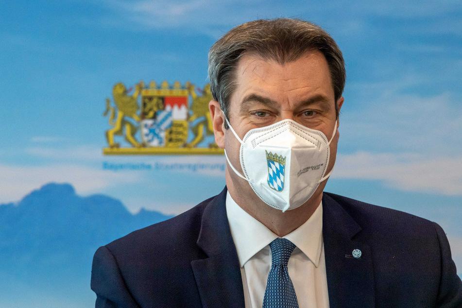 Markus Söder (54, CSU) wird sich mit einer Regierungserklärung zur Coronavirus-Politik seines Kabinetts den Abgeordneten stellen.