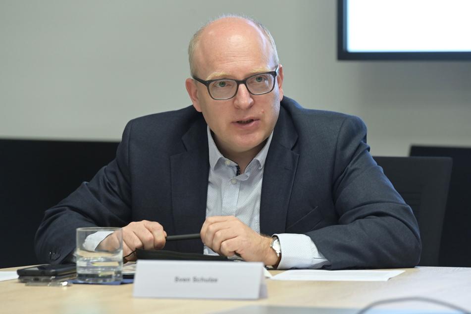 Oberbürgermeister Sven Schulze (49, SPD) gab einen Ausblick auf die Corona-Lage im Sommer.