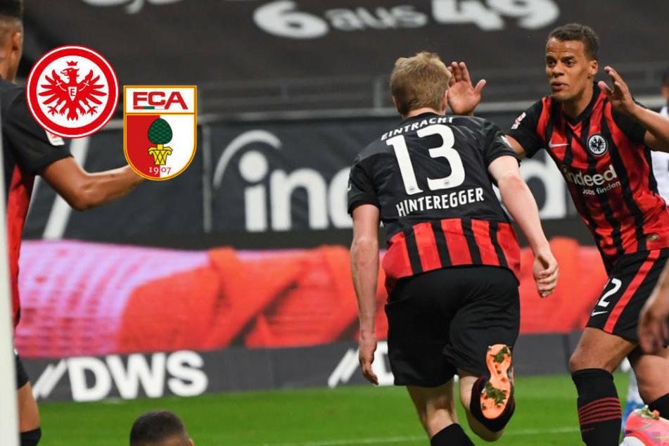 """Eintracht Frankfurt nach """"Schicksalsspiel"""" gegen FC Augsburg wieder auf Kurs!"""