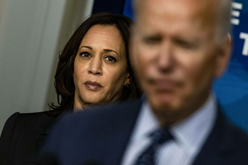 Harris hopes to gain more bipartisan support for the Biden administration's infrastructure plan.