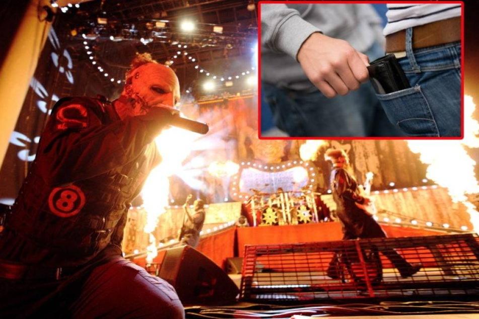 Massenhafter Diebstahl bei Slipknot-Konzert in Leipzig