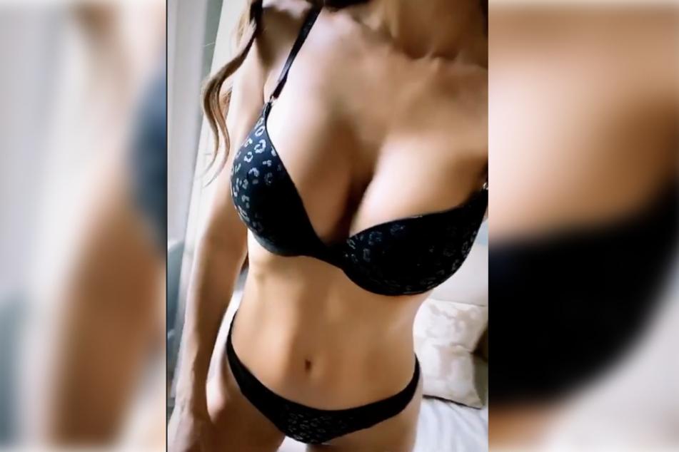 So sexy präsentiert sich die 37-Jährige auf ihrem Instagram-Account.