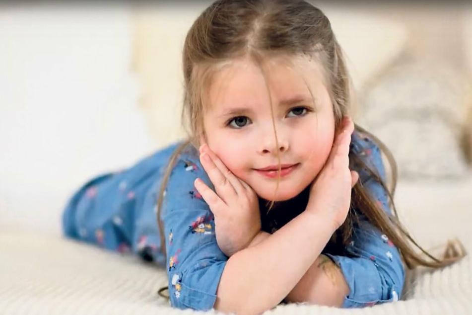 Fünfjährige mit Hirntumor hat nur noch zwölf Monate: Familie hofft auf ein Wunder für Emilia