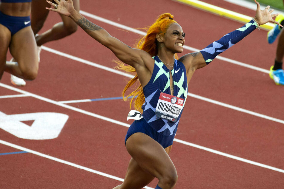 US sprinter Sha'Carri Richardson banned from Olympics after testing positive for cannabis