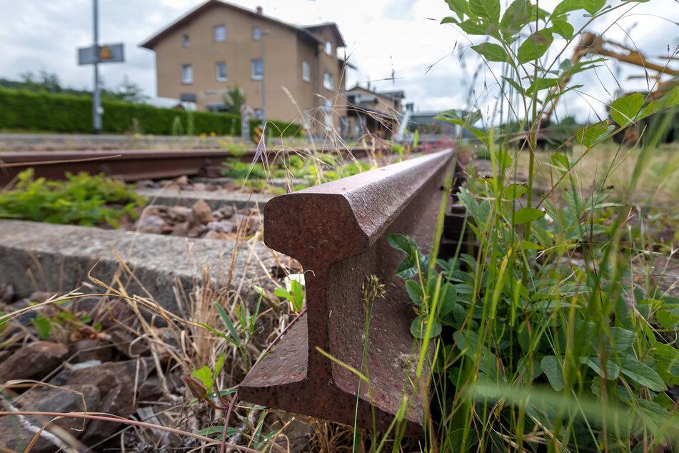 Viele Gemeinden auch im Erzgebirge stehen - bahntechnisch - auf dem Abstellgleis.