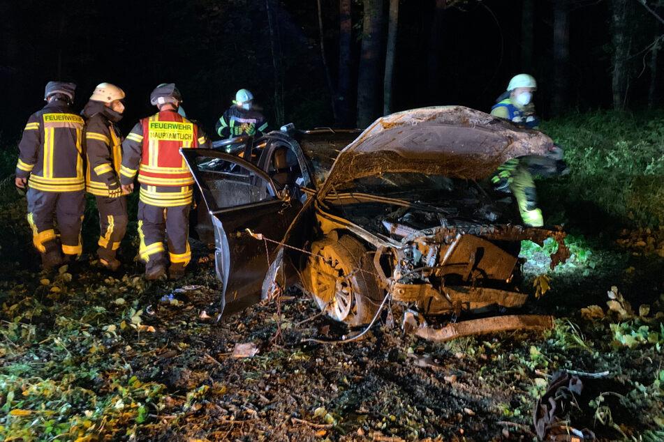 Das Fahrzeug kam erst nach 100 Metern zum Stillstand.