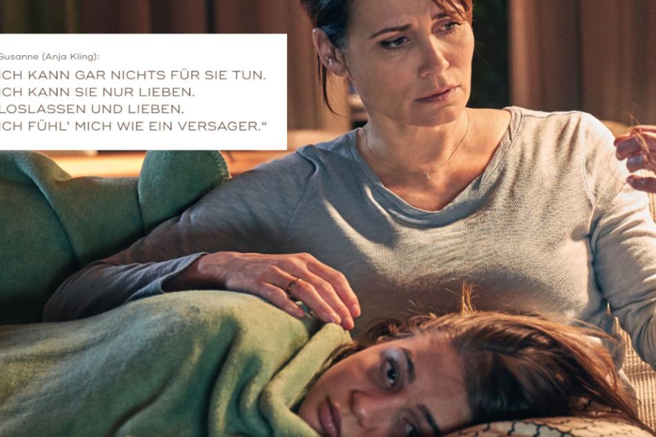 """Szene aus dem SAT.1-Film """"Aus Haut und Knochen""""."""