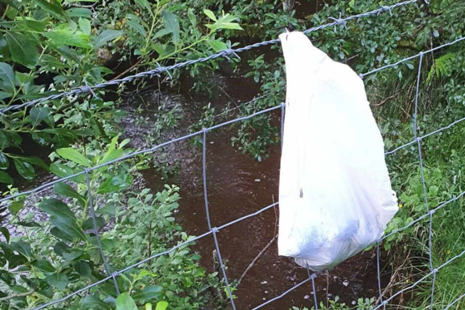 Spaziergänger entdeckt diese Plastiktüte und macht bösen Fund