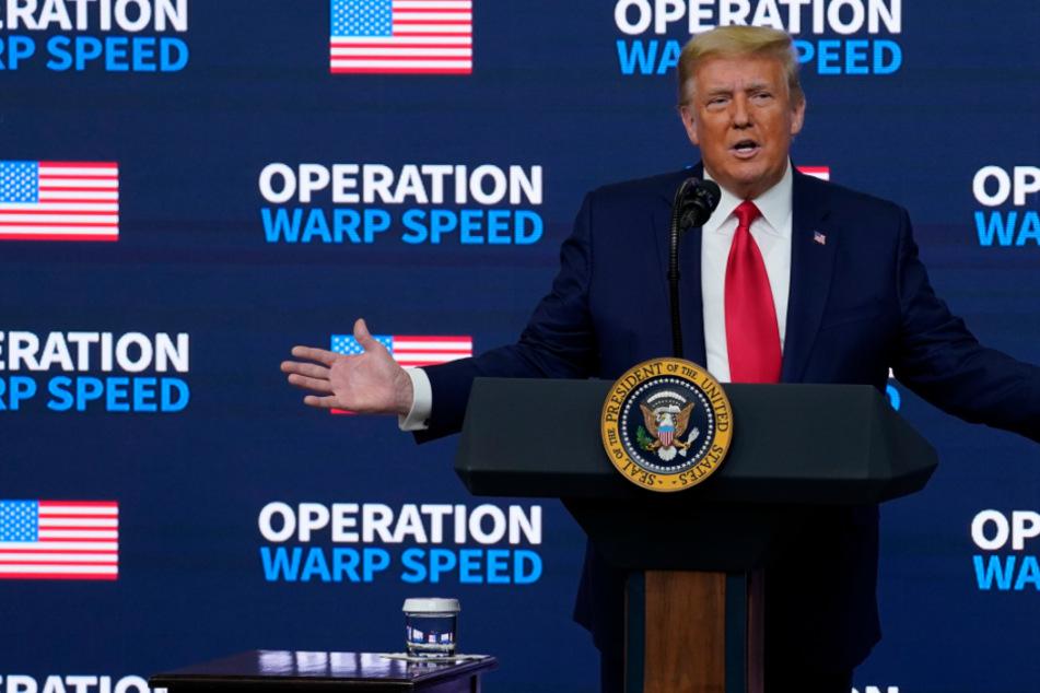 Wahlstreit in den USA: Jetzt zieht Donald Trump vors Oberste Gericht