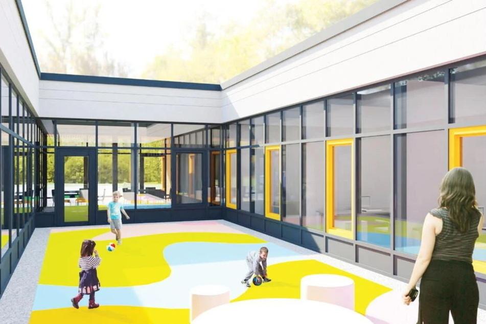 So soll der Neubau in Bernsdorf aussehen.