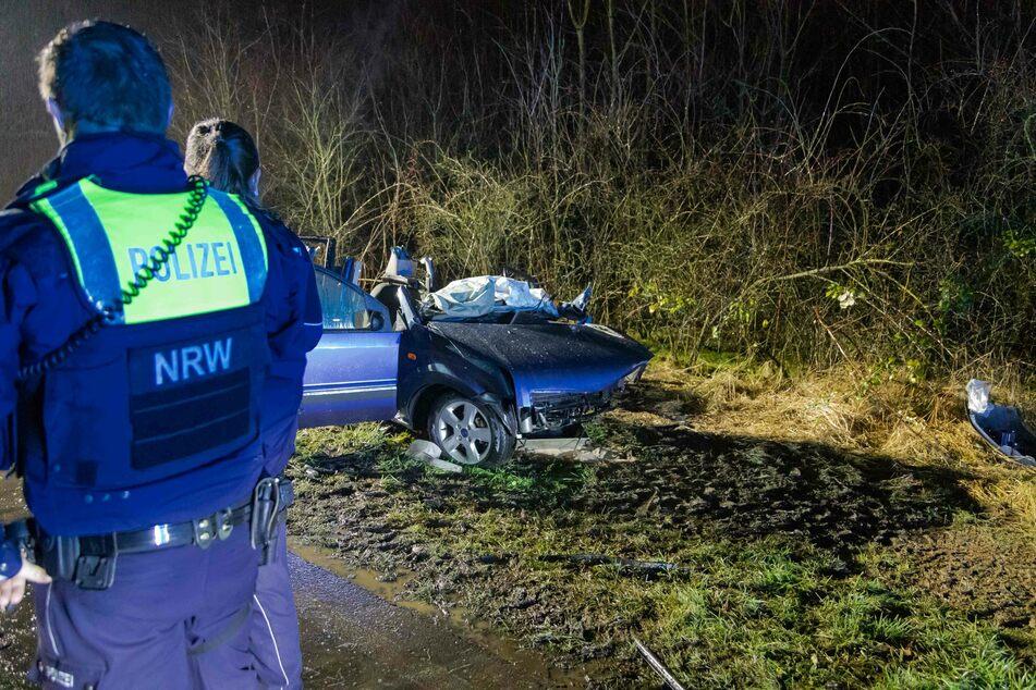Die Polizei hat nach einem schweren Unfall in Köln-Porz die Ermittlungen zur Ursache des Crashs aufgenommen.