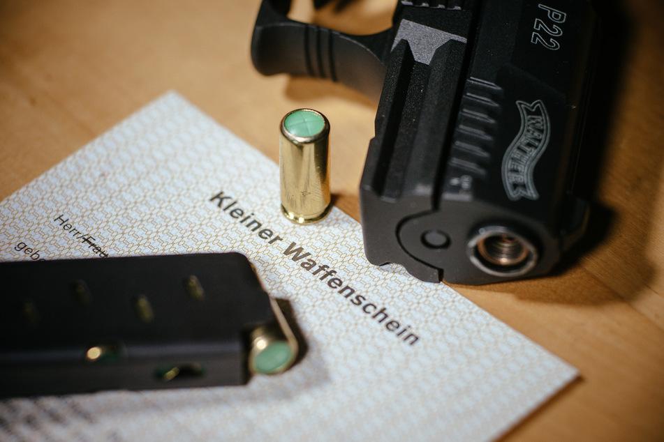 Zahl Kleiner Waffenscheine in Thüringen weiter gestiegen