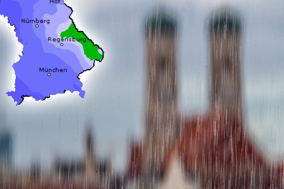 Wetter in Bayern: Wann verdrängt die Sonne das Regenwetter?