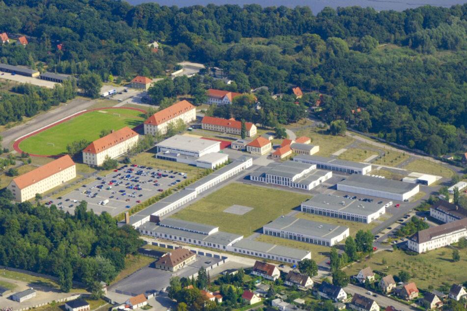 Der Campus der Hochschule der Polizei Brandenburg in Oranienburg.