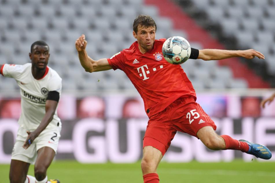 Thomas Müller (30) kann mit Sepp Maier (76) und Gerd Müller (74) gleichziehen.