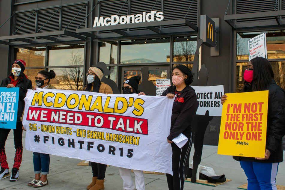McDonald's workers across 15 cities to strike for $15 minimum wage
