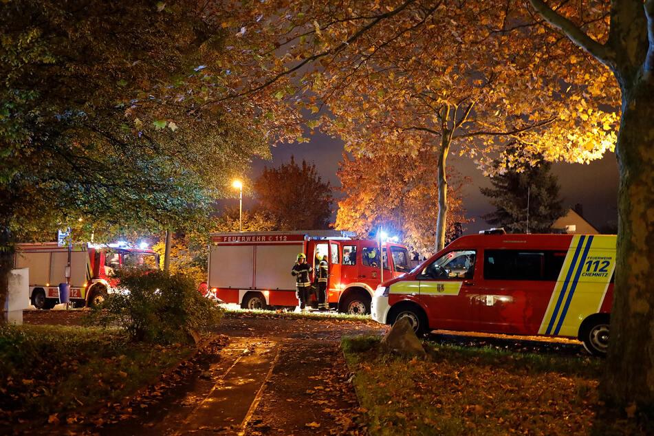 Chemnitz: Chemnitz: Mehrere Feuerwehr-Einsätze im Heckertgebiet