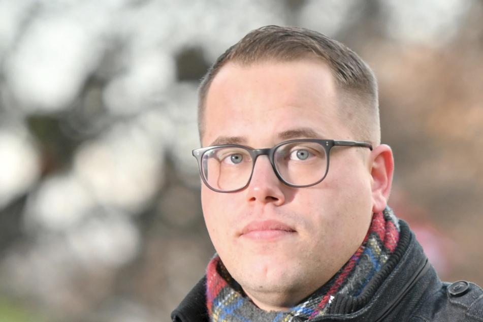 """Der Vorsitzende der Jungen Union, Johannes Schwenk (29): """"Der Fernsehturm hat keine Priorität mehr."""""""