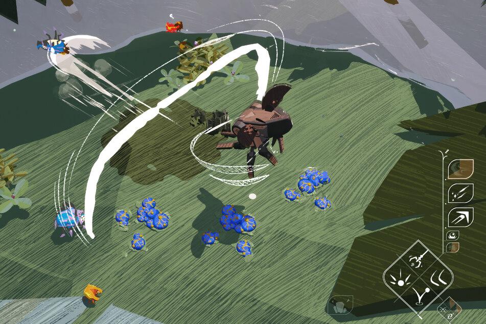 In den Kämpfen sollt Ihr Euch derweil den Wind zuutze machen können, während Ihr es mit verschiedenen Käferarten aufnehmt.
