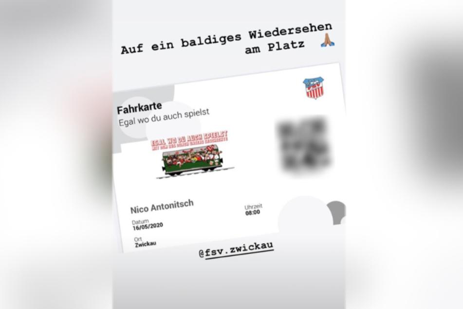 Auch der Ex-Zwickauer Nico Antonitsch fährt mit im virtuellen Zug durch die Klubgeschichte.