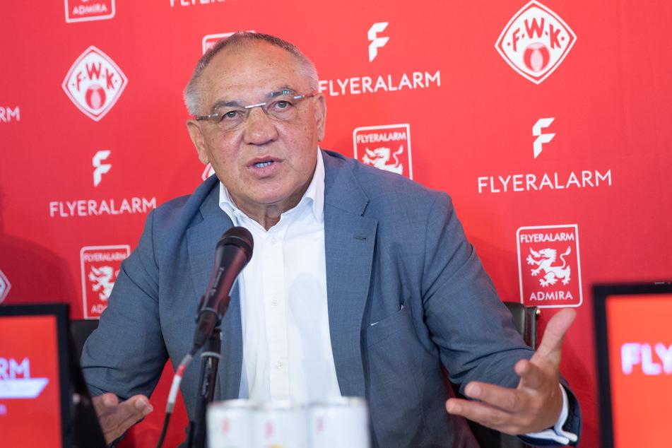 Ex-Bundesliga-Trainer Felix Magath ist mit dem Verhalten des DFB aktuell nicht zufrieden.