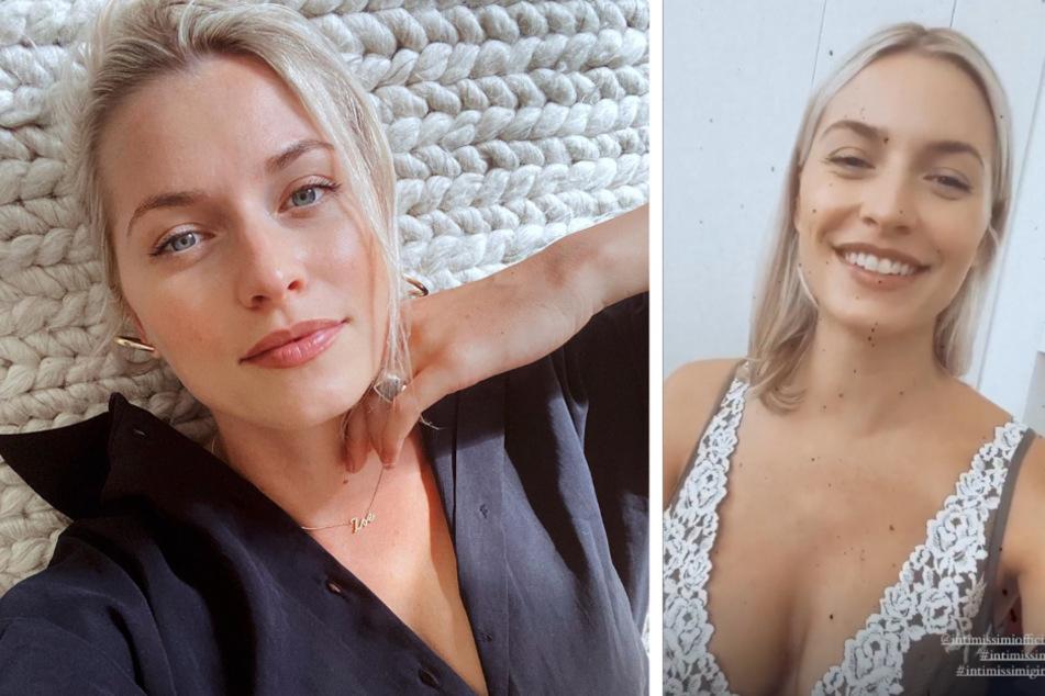 Lena Gercke zeigt sich in sexy Dessous: Doch Tochter Zoe stiehlt ihr die Show!