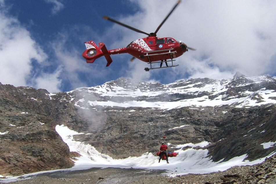 Die Rettungskräfte wurden am Wochenende in den Alpen gefordert. (Symbolbild)