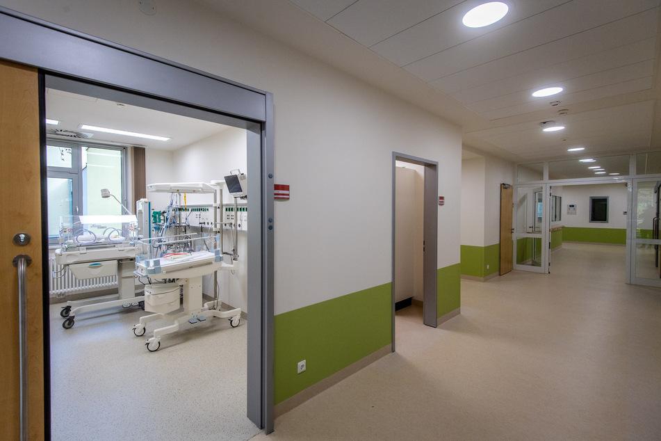 In den nächsten Tagen ziehen die ersten kleinen Patienten in die neuen Räume des DRK-Krankenhauses Rabenstein ein.