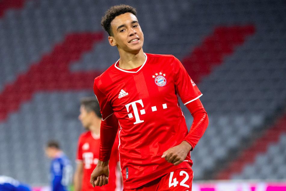 Jamal Musiala (17) steht beim FC Bayern München vor der Vertragsverlängerung.