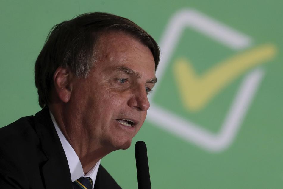 Brasiliens Präsident Jair Bolsonaro (66).