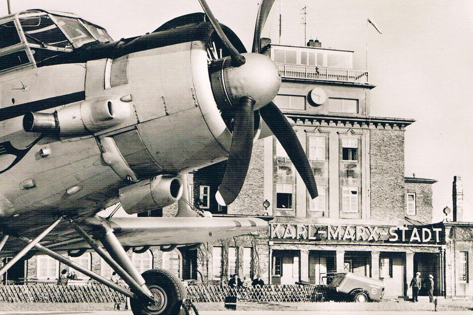 Auch in früher DDR-Zeit drehten sich hier die Propeller.
