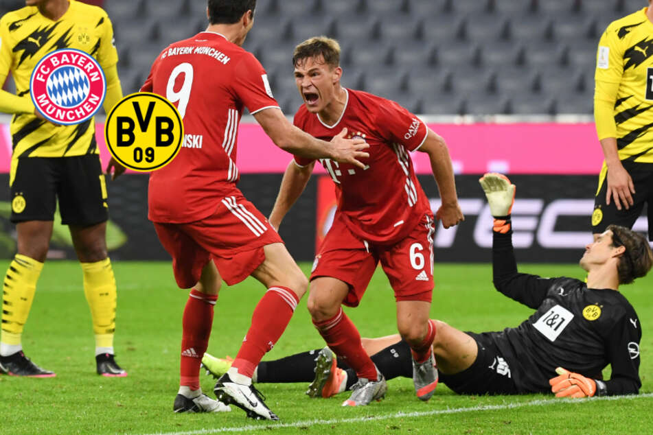 FC Bayern triumphiert nach BVB-Comeback dank Kimmichs Willenstreffer!