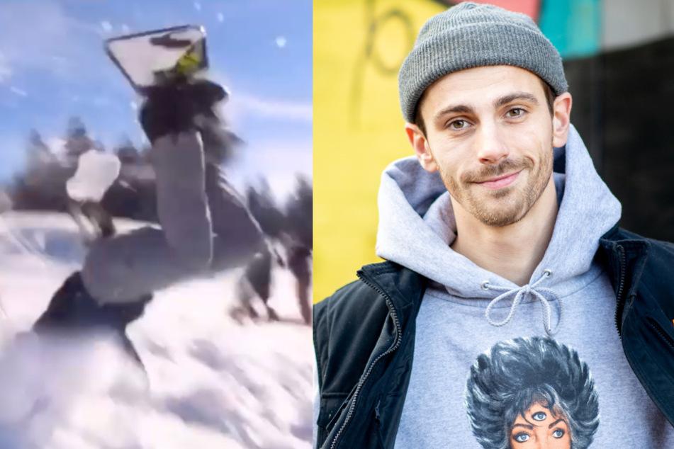 Fynn Kliemann: Nach Snowboard-Unfall: Fans machen sich Sorgen um Fynn Kliemann