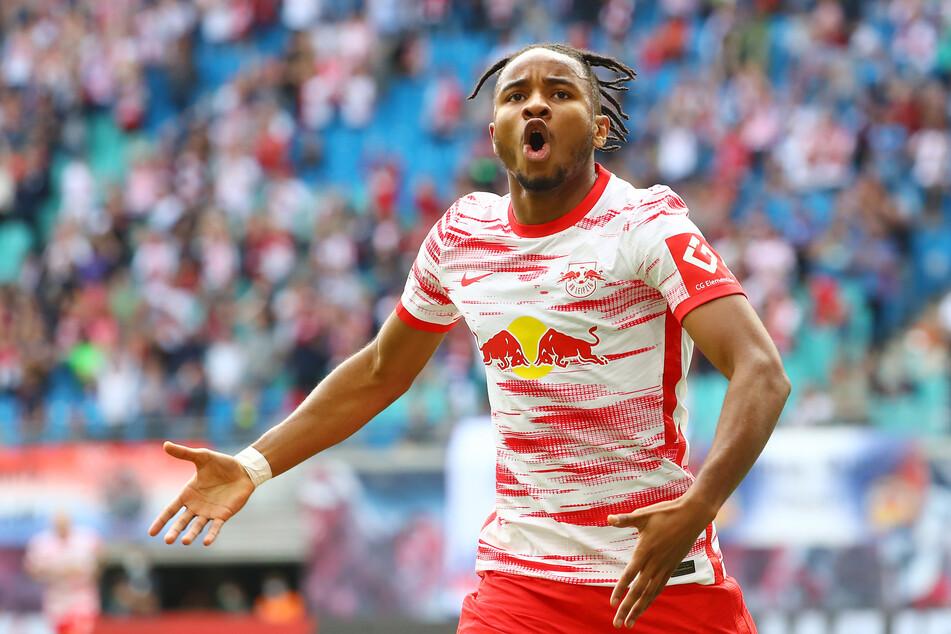 Christopher Nkunku (23) hat bei RB Leipzig gerade einen richtigen Lauf: Sechs Tore und drei Vorlagen in acht Spielen sind eine Hausnummer.
