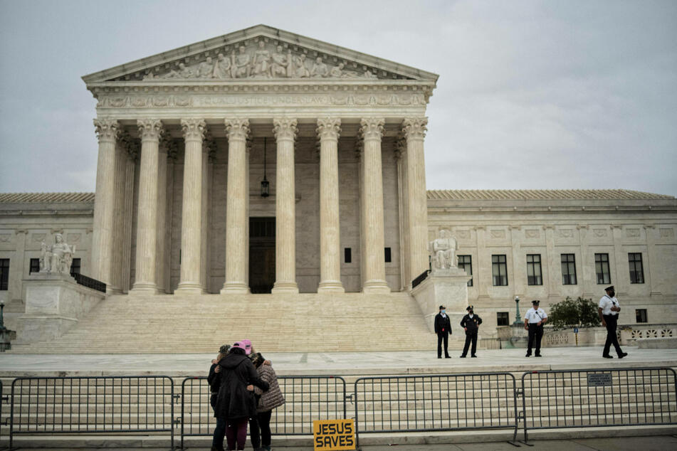 The seat of the US Supreme Court in Washington D.C.